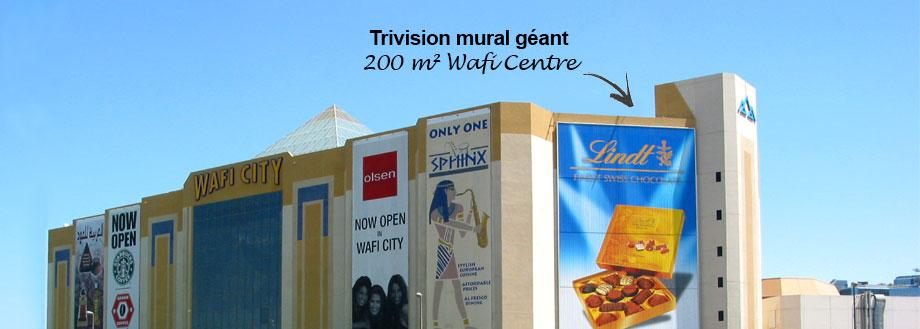 Trivision géant mural Solsystems