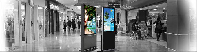 LCD écran numérique Solsystems DisplaySystems
