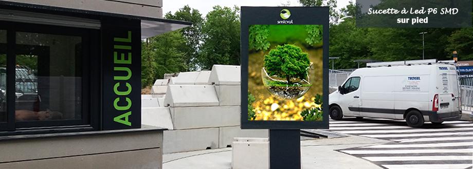 écran publicitaire led numérique P6